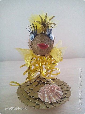 Рыбка золотая приносящая счастье). фото 3