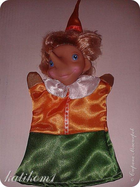 Вот так, вот,  обновила кукольный театр, доче в группу. фото 4