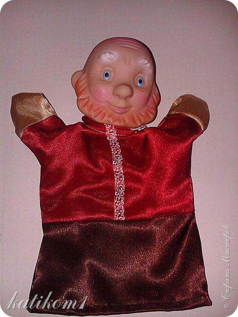 Вот так, вот,  обновила кукольный театр, доче в группу. фото 7