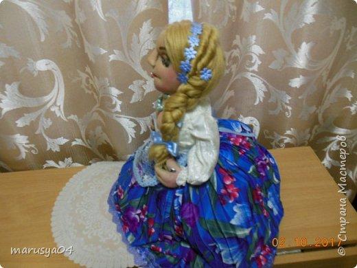 Заказали люди подарок для начальницы на юбилей))) 70 годков. Велели молодуху сшить. Ну вот такая молодуха вышла))) фото 5
