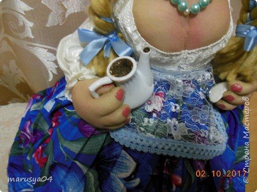 Заказали люди подарок для начальницы на юбилей))) 70 годков. Велели молодуху сшить. Ну вот такая молодуха вышла))) фото 7