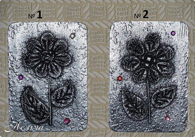 """АТС мини - серия """" Драгоценный цветок"""" в технике пейп-арт Татьяны Сорокиной. Вся серия ушла на погашение долгов. фото 6"""