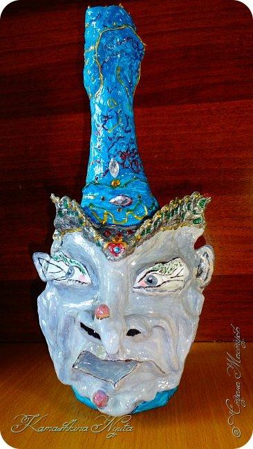 "# handmade # Happy Bottle -4. ВАЗА ""НАИНА"".:))) фото 1"
