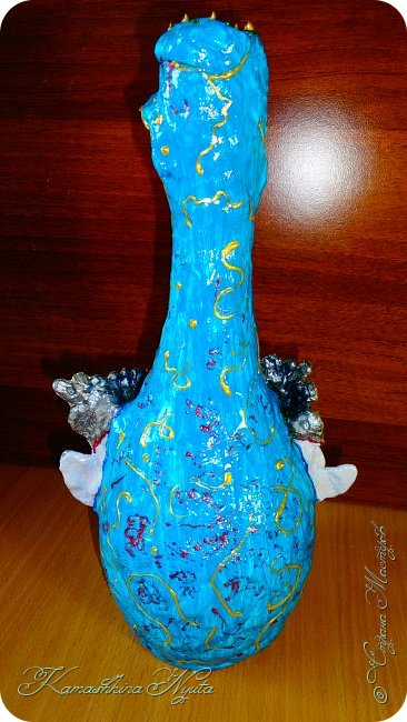 "# handmade # Happy Bottle -4. ВАЗА ""НАИНА"".:))) фото 3"