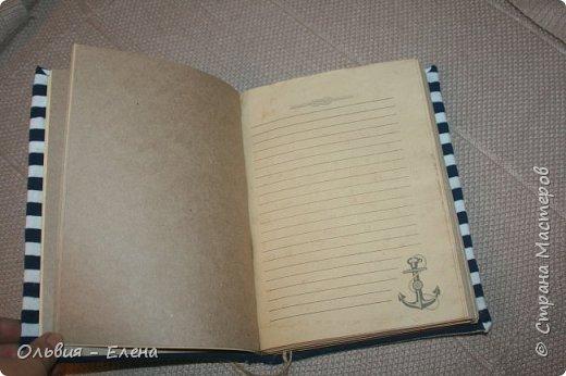 всем добрый вечер или день! Кристина закончила очередную книжку , записки моряка , так назвала и я решила выставить её и несколько других работ фото 3