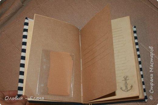 всем добрый вечер или день! Кристина закончила очередную книжку , записки моряка , так назвала и я решила выставить её и несколько других работ фото 5