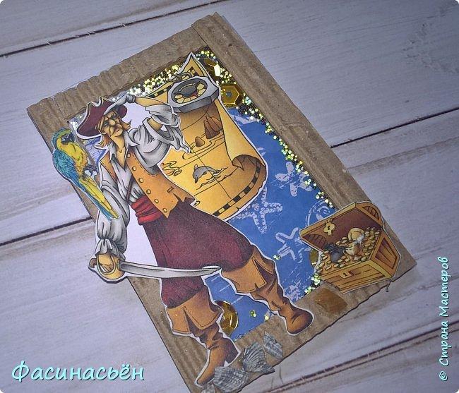 """АТС """"Пираты"""". Карточки с шейкером. фото 3"""