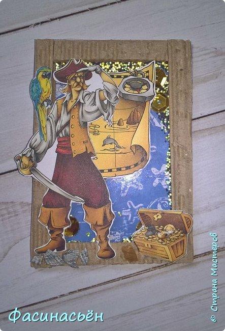 """АТС """"Пираты"""". Карточки с шейкером. фото 2"""
