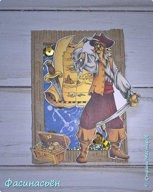 """АТС """"Пираты"""". Карточки с шейкером. фото 4"""