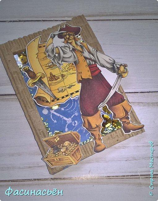 """АТС """"Пираты"""". Карточки с шейкером. фото 5"""