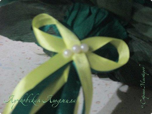 """Презент ко дню учителя """"сладкий подсолнух"""". Люблю подсолнухи, вот решила сделать цветок и подумала, что МК может кому пригодится, в СМ такого не встретила. фото 31"""