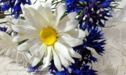 Добрый день мастера и мастерицы!!!!Уже осень пришла,а у меня все еще васильки с ромашками расцветают. фото 6