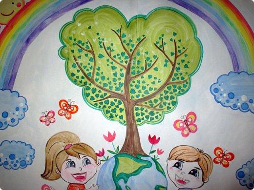 """Плакат к акции """"Наш лес. Посади свое дерево"""" в г.Электрогорск. Гуашь. 2 формата А1. фото 3"""