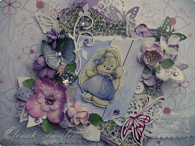 Доброго времени суток, дорогие мои! У меня сегодня открытка для моей любимой БОЛЬШОЙ ДЕВОЧКИ. фото 1