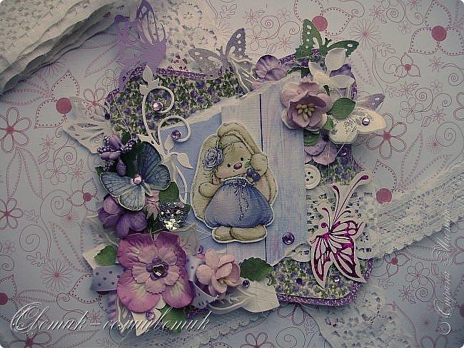 Доброго времени суток, дорогие мои! У меня сегодня открытка для моей любимой БОЛЬШОЙ ДЕВОЧКИ. фото 2