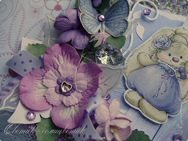 Доброго времени суток, дорогие мои! У меня сегодня открытка для моей любимой БОЛЬШОЙ ДЕВОЧКИ. фото 3