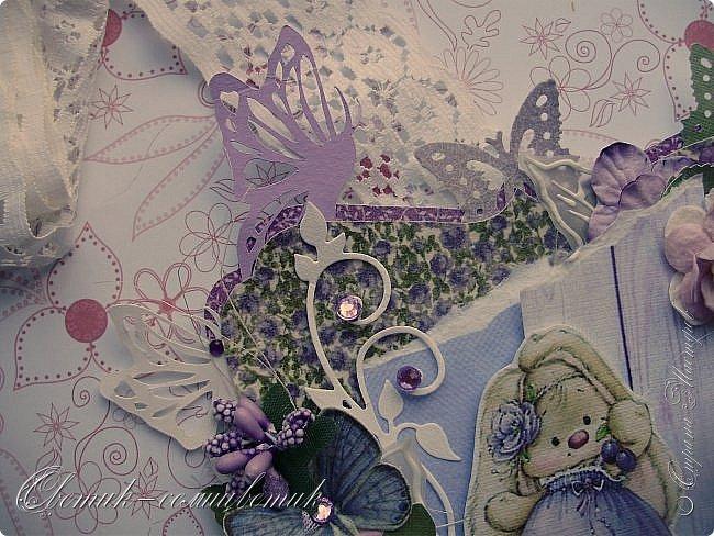Доброго времени суток, дорогие мои! У меня сегодня открытка для моей любимой БОЛЬШОЙ ДЕВОЧКИ. фото 4