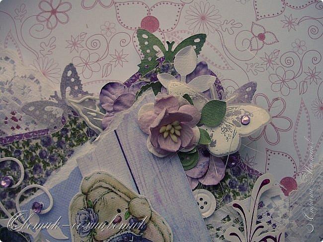 Доброго времени суток, дорогие мои! У меня сегодня открытка для моей любимой БОЛЬШОЙ ДЕВОЧКИ. фото 5