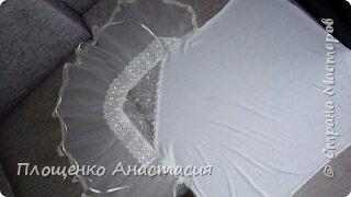 Буквы подушки для любимой племянницы Миланы! Сшиты из хлопчато-бумажной ткани, внутри синтепон, на букве М юбочка из фатина. фото 7
