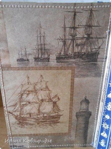 Давно хотела сделать открытки на морскую тему. Получились три такие работы. фото 12