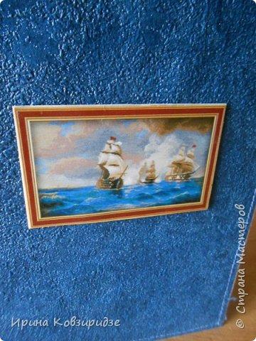 Давно хотела сделать открытки на морскую тему. Получились три такие работы. фото 10