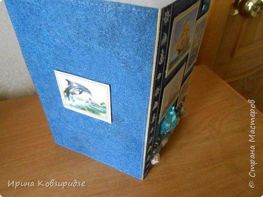 Давно хотела сделать открытки на морскую тему. Получились три такие работы. фото 16