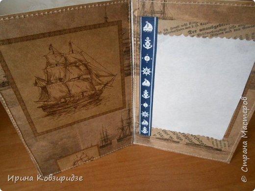 Давно хотела сделать открытки на морскую тему. Получились три такие работы. фото 18