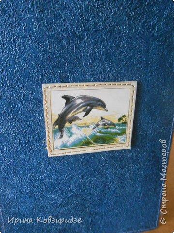 Давно хотела сделать открытки на морскую тему. Получились три такие работы. фото 17