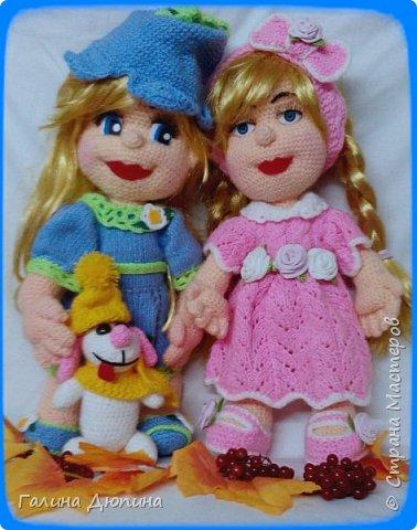Люся маленькая добрая девочка и ее собачка Дуся.Размер куколки 45 см,руки-ноги все подвижное,одежда и обуви снимается. фото 7