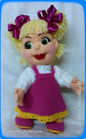 Куколка Маша-добрая,жизнерадостная девочка.Ростик Маши 45 см.Руки,ноги все подвижное,поэтому она может принимать различные положения тела.Вся одежда снимается. фото 5