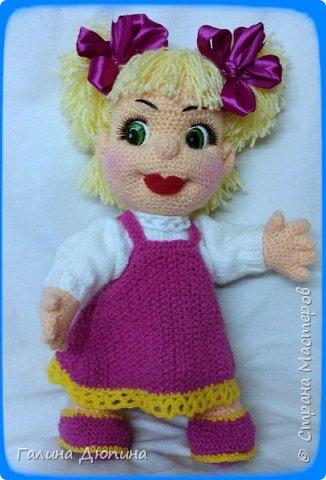 Куколка Маша-добрая,жизнерадостная девочка.Ростик Маши 45 см.Руки,ноги все подвижное,поэтому она может принимать различные положения тела.Вся одежда снимается. фото 3