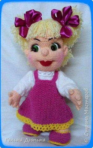 Куколка Маша-добрая,жизнерадостная девочка.Ростик Маши 45 см.Руки,ноги все подвижное,поэтому она может принимать различные положения тела.Вся одежда снимается. фото 4