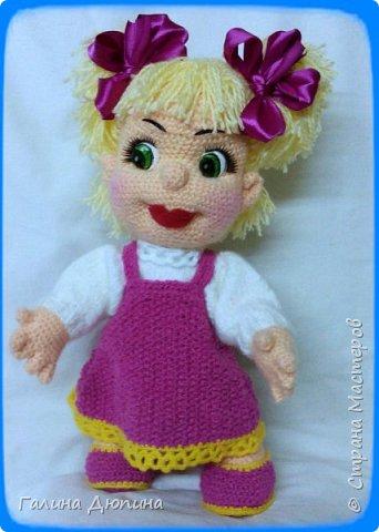 Куколка Маша-добрая,жизнерадостная девочка.Ростик Маши 45 см.Руки,ноги все подвижное,поэтому она может принимать различные положения тела.Вся одежда снимается. фото 1