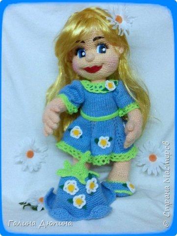 Добрая маленькая девочка Колокольчик.Размер 40 см. фото 3