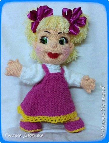 Куколка Маша-добрая,жизнерадостная девочка.Ростик Маши 45 см.Руки,ноги все подвижное,поэтому она может принимать различные положения тела.Вся одежда снимается. фото 6