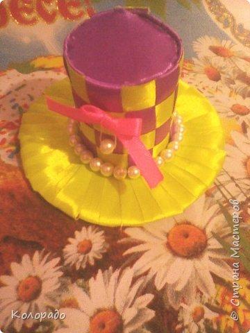 Добрый вечер, дорогие мастерицы! Сегодня я хочу показать вам как сделать красивую шляпку. фото 15