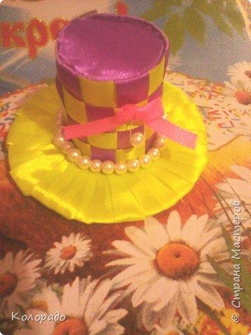 Добрый вечер, дорогие мастерицы! Сегодня я хочу показать вам как сделать красивую шляпку. фото 16