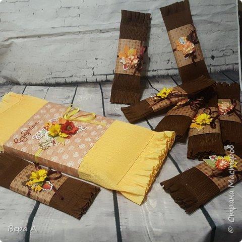 За 2,5 часа оформила дочке в школу 8 шоколадок и 1 коробку конфет фото 1