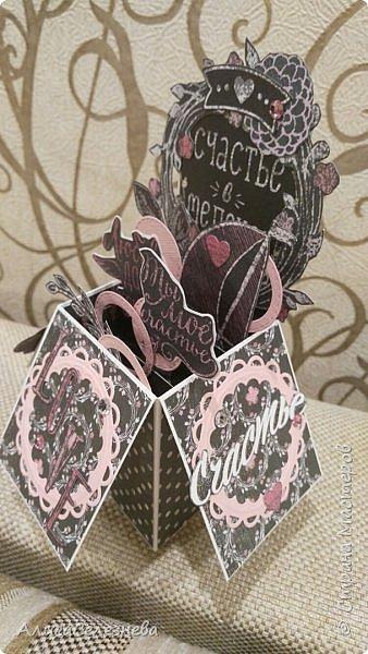 Привет всем! Вот такие коробочки-открытки делала к разным праздникам. фото 9