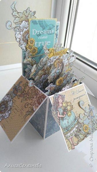 Привет всем! Вот такие коробочки-открытки делала к разным праздникам. фото 5