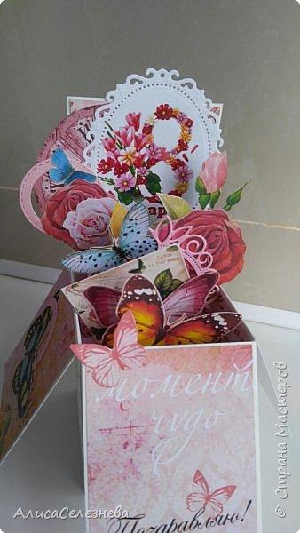 Привет всем! Вот такие коробочки-открытки делала к разным праздникам. фото 6