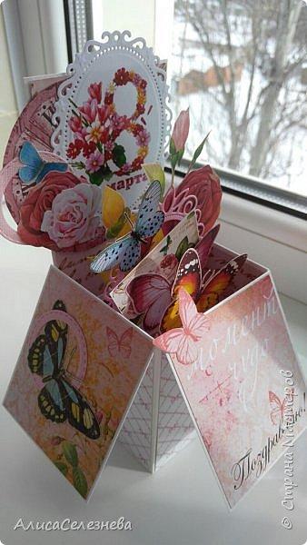 Привет всем! Вот такие коробочки-открытки делала к разным праздникам. фото 7