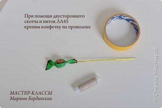 Здравствуйте, дорогие мастерицы. Сегодня хочу рассказать и показать вам как сделать цветок бессмертник из гофрированной бумаги с конфеткой. фото 7
