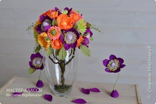 Здравствуйте, дорогие мастерицы. Сегодня хочу рассказать и показать вам как сделать цветок бессмертник из гофрированной бумаги с конфеткой. фото 1