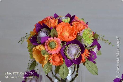 Здравствуйте, дорогие мастерицы. Сегодня хочу рассказать и показать вам как сделать цветок бессмертник из гофрированной бумаги с конфеткой. фото 2