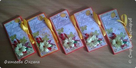 Доброго времени суток, жители Страны Мастеров! Такие шоколадницы получились ко Дню учителя.  Всех педагогов с праздником! фото 1