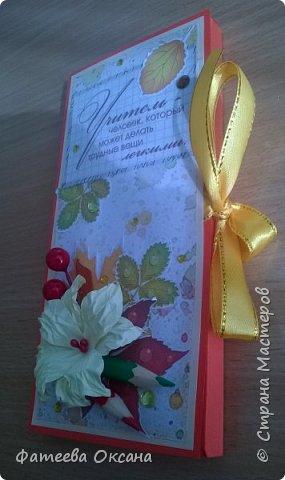 Доброго времени суток, жители Страны Мастеров! Такие шоколадницы получились ко Дню учителя.  Всех педагогов с праздником! фото 5