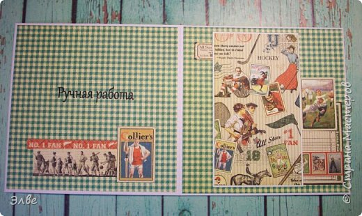 Две открытки для Лериных учителей физкультуры. Открытки квадратные 13,5Х13,5 см. Бумага, горячо мной любимая, Графика 45.По моему мнению, даже самая простая открытка из Графики,выглядит достойно фото 6