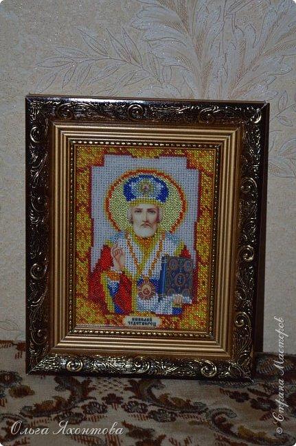 """Икона """"Святого Николая Чудотворца"""" фото 2"""