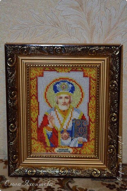 """Икона """"Святого Николая Чудотворца"""" фото 3"""